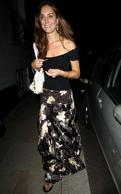 Kate leaving Kitts nightclub on 6/8/2007