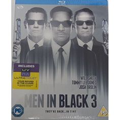 Men In Black 3 (sci-fi Range - Uv - Hmv Exclusive) In Men in Black 3 Agents J [Will Smith] and K [Tommy Lee Jones] are back... in time. J has seen some inexplicable things in his 15 years with the Men in Black but nothing not even aliens perplexes him http://www.MightGet.com/january-2017-12/men-in-black-3-sci-fi-range--uv--hmv-exclusive-.asp