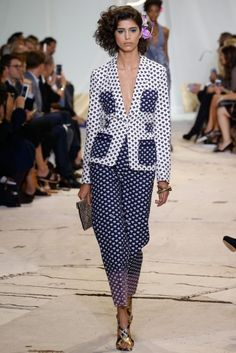 "DVF - Diane von Furstenberg celebrates ""truth, nature and freedom"" with fun and flirtatious looks in the SS16 collection."