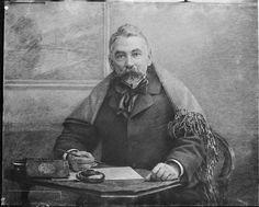 Stéphane Mallarmé, poète. 2, February, 1896. Par Nadar. Négatif verre au gélatino-bromure d'argent.