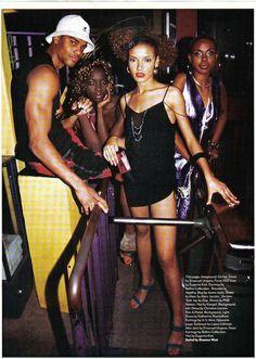 Fashion Beauty and Hip hop.