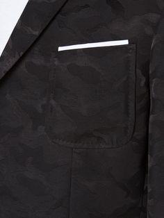 Neil Barrett Camouflage Jacquard Blazer - Eraldo - Farfetch.com