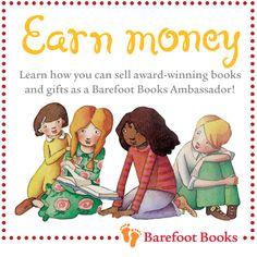 One Little Word She Knew: Barefoot Books Ambassador Program Fund Management, Management Company, Barefoot Books, Award Winning Books, News Stories, Story Time, Earn Money, Childrens Books, Homeschool