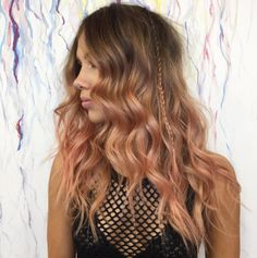 How about a blorange ombre? | Here's The Lowdown On The Hair Trend That's About To Take Over 2017