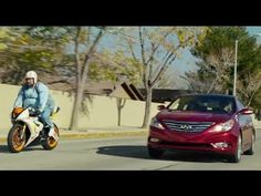 """Hyundai wants to show five commercials during this year's Super Bowl, and you've probably already seen one of them called """"Don't Tell"""" that's been airing on television for weeks now. Another two commercials published on YouTube, and we like 'Stuck' the most (see above), which features the 2013 Hyundai Sonata Turbo. It presents all of the horrid things you could be stuck behind on the highway as reason enough for buying a boosted Sonata with its ample passing power."""