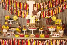 We're bananas over the details of this party by Angie of Whimsy Farm Twine. Since Angie's daughter Lorelai loves Curious George books, Angie incorporated everyone's favorite monkey for the theme at her daughter's birthday party. The brown, yellow, red, and white is not a typical girly palette, but it is perfect for this theme. Have you …