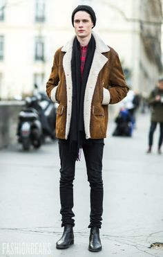 damplaundry: Andrew Westermann at PFW F/W 2015 by Yana...