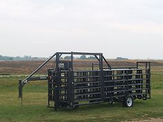 Wrangler Portable Corral System Gooseneck Model- 60 cow/calf pairs, or up to 120