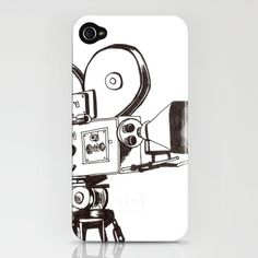 Vintage film iPhone Case