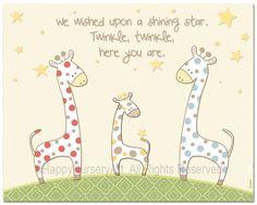Children's Wall Art  Nursery Decor  Polka Dots by HappyNurseryArt, $15.00