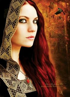 Celtic-in winter the witch must summon the element of fire within and around her, to counteract the cold and static-ness of winter.  All magic is about balance.