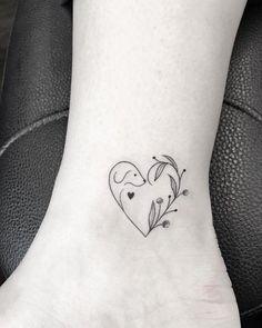Cute Ankle Tattoo Ankle Tattoos Tattoos Small Dog - Cute Ankle Tattoo Visit Tattoodo Most Creative Small Tattoos That Will Blow Your Mind Best Friend Tattoos Sister Tattoos Baby Tattoos Small Tattoos Dog Memorial Tattoos Puppy Tat Mini Tattoos, Small Dog Tattoos, Cute Tattoos, Beautiful Tattoos, Body Art Tattoos, Tattoos For Guys, Tattoos For Women, Tatoos, Tattoo Small