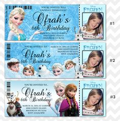 Plan the perfect Frozen party with Frozen Invitations to invite your guests! Add your photo in our Frozen Invitation templates! Disney Frozen Invitations, Frozen Birthday Invitations, Frozen Birthday Theme, Girls Birthday Party Themes, Frozen Theme Party, Princess Birthday, 7th Birthday, Birthday Ideas, Birthday Parties