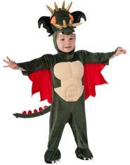 Toddler and Kids Spike The Dragon Costume