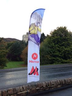 Feather Flag for Mountain Spirit - Aviemore Feather Flags, Sailing, Mountain, Spirit, Design, Candle, Mountaineering