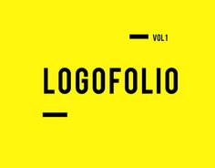 "Check out new work on my @Behance portfolio: ""Logofolio vol 1"" http://be.net/gallery/40274149/Logofolio-vol-1"
