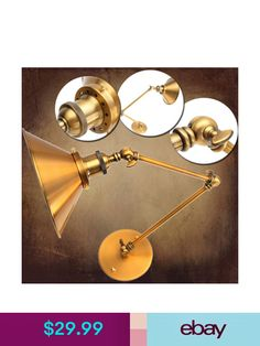 Wall Lamps & Sconces #ebay #Home & Garden