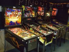 US $197,100.00 Pinball Arcade Video Games Huge Lot of 167 Machines Many Tested and Working | eBay
