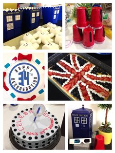 @clandestinely some ideas for Ashy's party. Love the adipose marshmallows and the fez solo cups.