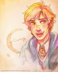 remus lupin fan art - Google Search                                                                                                                                                                                 Más