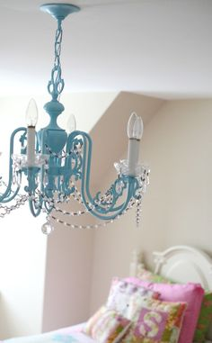 Brassy to classy my free chandelier centsational girl cottage check out this girls chandelier makeover from lindsay wilkes of the cottage mama makeover an outdated brass chandelier with spray paint aloadofball Choice Image
