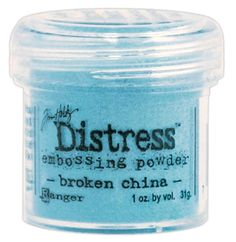 Broken China Distress Embossing Powder 1 Oz TIM-22855 - Stamps