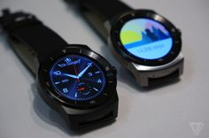 This is the LG G Watch R