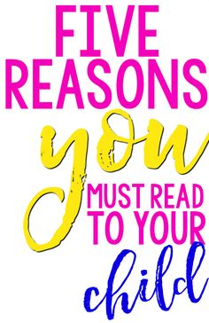 Five Reasons You Mus
