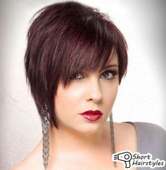 Short-hairstyles-for-fine-hair-round-face-with-natural-face | HQ Hairstyles Fashion Blogs