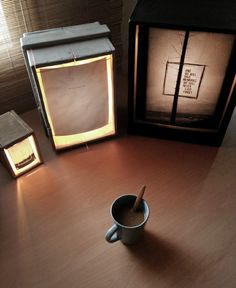 time for coffee & lights