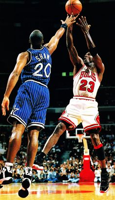Mike Fades Away, '96 East Finals.