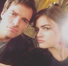 Find images and videos about pretty little liars, pll and lucy hale on We Heart It - the app to get lost in what you love. Pretty Little Liars Aria, Lucy Hale, Ezra And Aria, Laura Leighton, Ezra Fitz, Ian Harding, Wattpad, It Movie Cast, Best Shows Ever