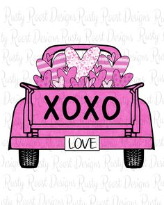 Valentine Heart, Valentines, Pink Truck, Download Digital, Patriotic Shirts, Holiday Pictures, Cricut Creations, Christmas Quotes, Valentine Decorations