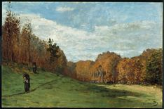 Woodbearers in Fontainebleau Forest : Claude Oscar Monet : Museum Art Images : Museuma Monet Paintings, Impressionist Paintings, Landscape Paintings, Claude Monet, Lily Pond, Pierre Auguste Renoir, Kunsthistorisches Museum, Forest Painting, Le Havre