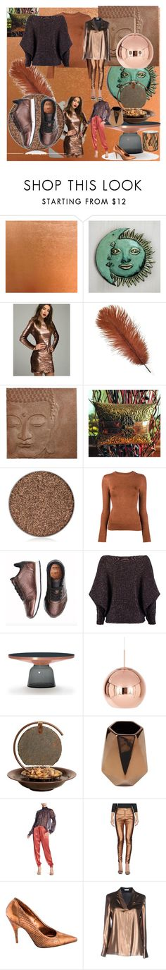 """""""Copper"""" by jazzmingermany ❤ liked on Polyvore featuring NOVICA, Anastasia Beverly Hills, JoosTricot, nooki design, Tom Dixon, Bluworld, Core Home, endless rose, Kelly Wearstler and Brunello Cucinelli"""