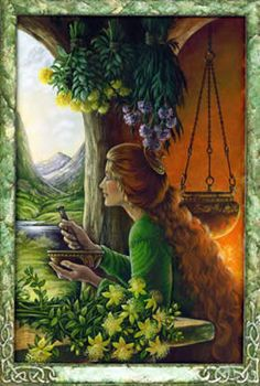 Buscando a cura que vem da natureza mãe...