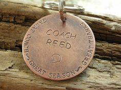 Hey, I found this really awesome Etsy listing at https://www.etsy.com/listing/211915074/coach-keychain-gift-for-coach-thank-you