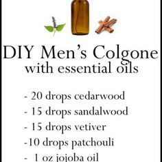 DIY Essential Oil Perfume Recipes without Alcohol - The Miracle of Essential Oils Essential Oil For Men, Oils For Men, Essential Oil Perfume, Perfume Oils, Essential Oil Blends, Man Perfume, Laura Lee, Young Living, Homemade Perfume