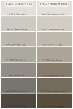 How To Choose The Perfect Grey Paint Color - Claire BrodyClaire Brody Designs. Agreeable Gray or Repose Gray. Mega Greige, Paint Colors For Home, Paint Colours, Brown Paint Colors, Gray Brown Paint, Warm Grey Paint, Lowes Paint Colors, Sand Color Paint, Living Room Paint Colors