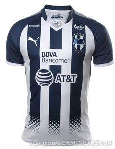 Camiseta local PUMA de Rayados de Monterrey 2017-18 Monterrey Futbol f736fdd27af46