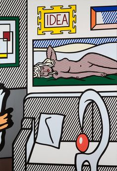"""Idea,"" by Roy Lichtenstein - Crosscurrents: Modern Art from the Sam Rose and Julie Walters Collection 