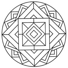 Free printable mandala coloring pages for adults mandala coloring pages adults for also adult free printable . Mandala Art, Mandalas Drawing, Mandala Coloring Pages, Colouring Pages, Adult Coloring Pages, Simple Mandala, Geometric Drawing, Stained Glass Patterns, Dot Painting