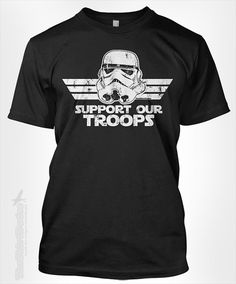 Support our Troops  gift idea for fan by TheShirtDudes on Etsy, $15.95