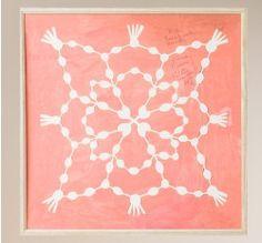 Paule Marrot Pink Maze Artwork