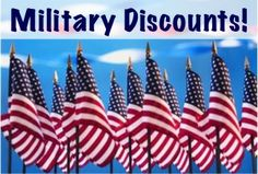 Discounts- Some depend on location. I've basically just started asking everywhere I shop if they give a military discount.