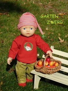 43 cm Baby Puppe zB Puppenkleidung f Baby Born   Krümel Emilia