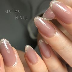 The advantage of the gel is that it allows you to enjoy your French manicure for a long time. There are four different ways to make a French manicure on gel nails. The choice depends on the experience of the nail stylist… Continue Reading → Nude Nails, Nail Manicure, My Nails, Acrylic Nails, Nail Polish, Neutral Gel Nails, Bridal Nails, Wedding Nails, Red Wedding