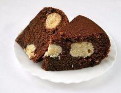 Фото к рецепту: Шоколадный манник в мультиварке