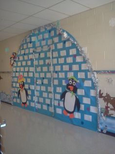 My Version on the Igloo For Your Classroom Door