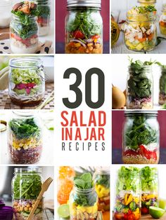 30 Salad in a Jar Recipes